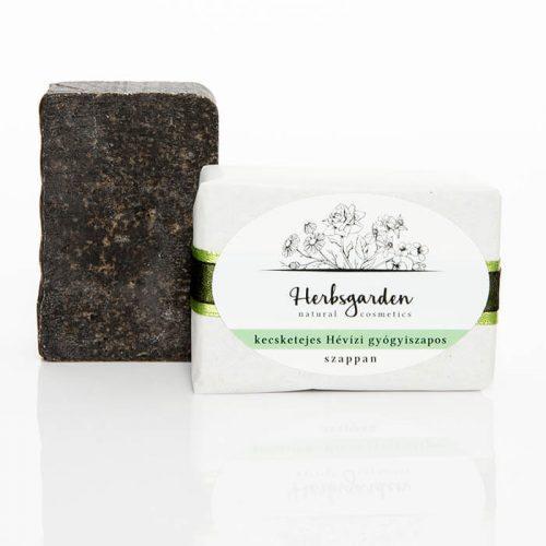 Herbsgarden hévizi iszapos szappan problémás bőrre - nyugtatja és ápolja a zsírosabb, problémásabb bőrt.