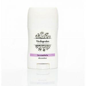 A Herbsgarden aluminiumsó mentes natúr dezodorok megbízhatóan védenek a baktériumok elszaporodása nyomán kialakuló testszagtól. 100% természetes összetevők- maximális hatékonyság - kellemes levendula illat!